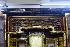 仏壇 欄間